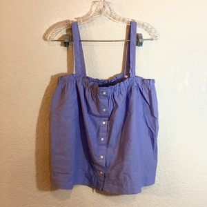 NWT J. Crew Chambray Top
